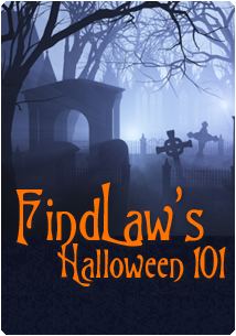 FindLaw's Halloween 101 graveyard graphic