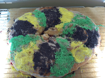 Robyn Cain's King Cake
